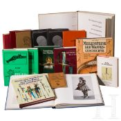 16 Bände zur historischen Waffenkunde
