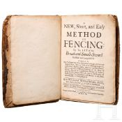 "William Hope, ""A New, Short and Easy Method of Fencing"", Edinburgh, 1707"