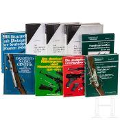 Neun Bücher zum Thema deutsche Ordonnanzwaffen