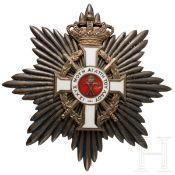 Griechenland - Orden Georgs I., Bruststern mit Schwertern zum Großkreuz