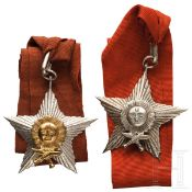 Nepal - Orden der Rechten Hand des Gurkha (Gorkha-Dakshina Bahu) - Offizier- und Ritterdekoration