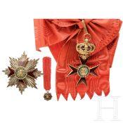 Italien - Ordine di Alfonso IX – Großkreuzsatz, 20. Jhdt.