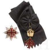 Orden vom Heiligen Grab zu Jerusalem - Großkreuz mit Bruststern, 19./20. Jhdt.
