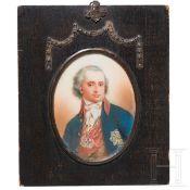 Miniaturportrait eines polnischen Adligen, Anfang 19. Jhdt.