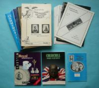 The Commemorative Collectors Society Journal, twenty-two issues from 1 to 24, eleven Commemorative