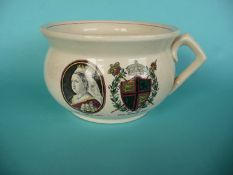 1887 Jubilee: a large chamber pot
