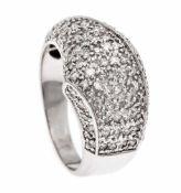 Brillant-Ring WG 585/000 mit Brillanten, zus. 0,50 ct W/SI, RG 54, 5,9 gBrilliant ring WG 585/000