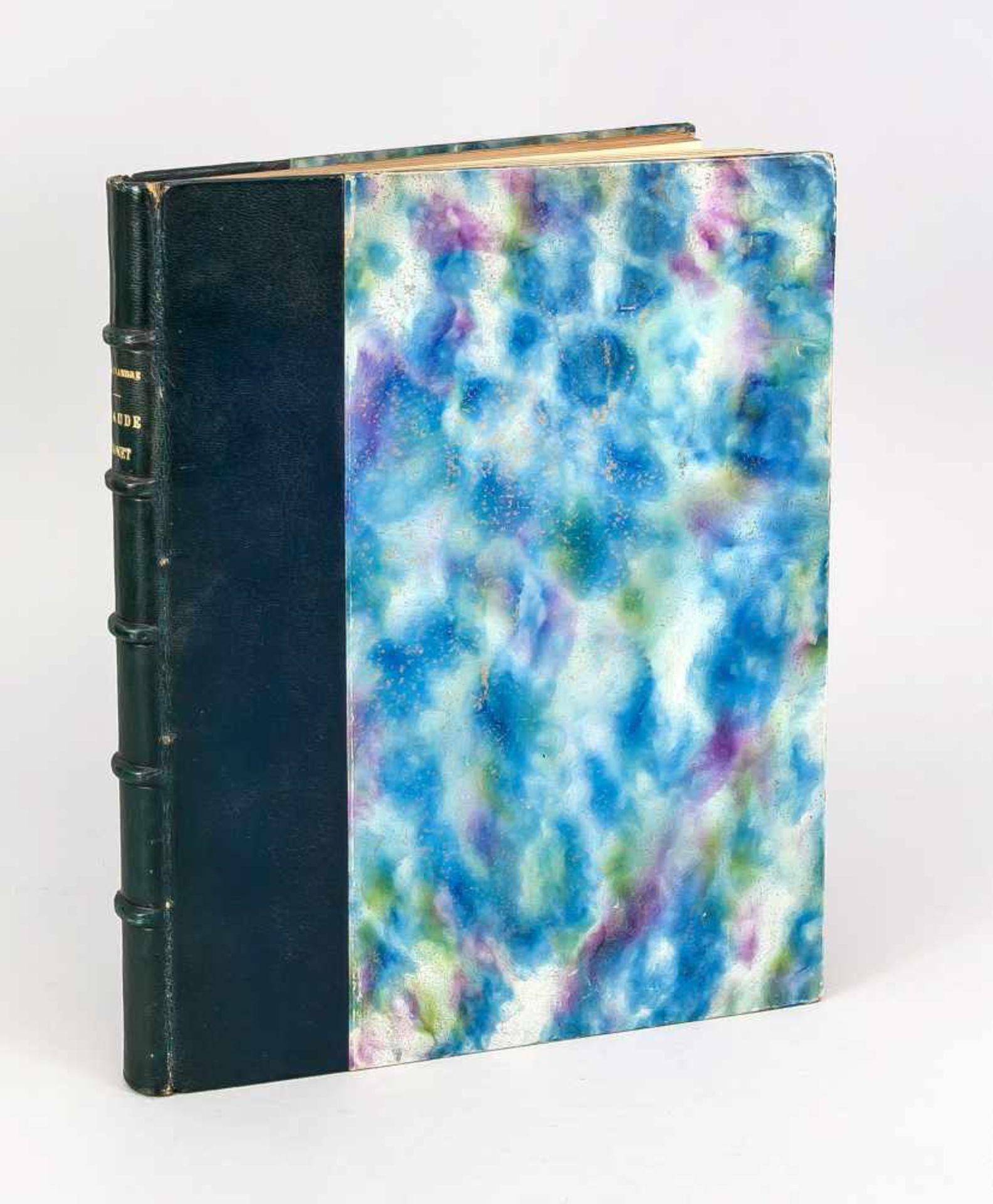 """Claude Monet, Monographie von Arsène Alexandre, in Paris bei """"Bernheim-Jeune"""" 1921, - Bild 3 aus 3"""