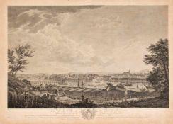 """Claude-Joseph Vernet (1758-1836), nach, Ansicht von Bayonne, """"Vue de la Ville et du Port"""