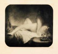 Josef Mánes (1820-1871), bedeutender tschechischer Maler des 19. Jh., zwei erotische