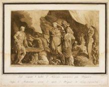 Johann Theophilus Prestel (1739-1808) nach Francesco Primaticcio (1504-1570), Jole