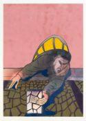 Thodorus Klavdios (*1958), zeitgenössischer, griechischer Maler. Die Rettung, großes
