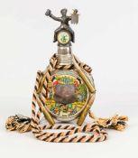 Reservistenflasche, Deutschland, Anfang 20. Jh., Schraubverschluss mit figürlichem