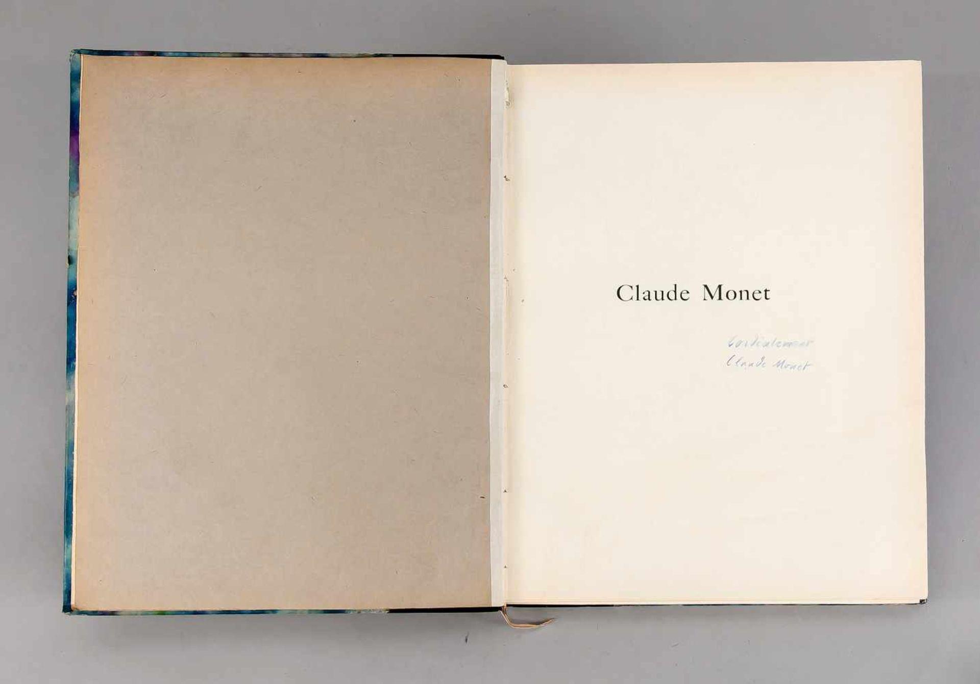 """Claude Monet, Monographie von Arsène Alexandre, in Paris bei """"Bernheim-Jeune"""" 1921, - Bild 2 aus 3"""