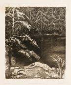Hildegard Koegler (1892-1957), Konvolut von 11 symbolistischen Radierungen zu