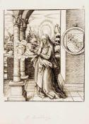 Hans Burgkmair (1473-1531)/Leonhard Beck (1480-1542), 18 Holzschnitte aus dem