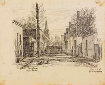 Adolf Hinzpeter (1879-1949), dt. Maler und Grafiker aus der Uckermark, tätig in Berlin.