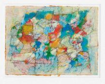 Hans Hermann Steffens (1911-2004), dt. Maler aus Hamburg, abstrahier figürliche