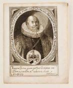 Konvolut von 23 Portraits des 17.-19. Jh., Kupferstiche und Radierungen. Darunter Freiherr