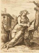 Philip Galle (1537-1612) nach Anthonis van Blocklandt (1532-1583), Blätter 1 - 4 aus der