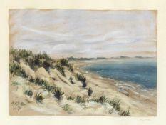 Unidentifizierter Maler 1. H. 20. Jh., Küstenpartie bei Ängelholm in Schweden,