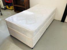 "DURA BEDS ""YORK"" ORTHOPEDIC SINGLE DIVAN BED"