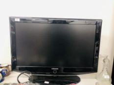 SAMSUNG 32INCH TV WITH REMOTES & INSTRUCTIONS MODEL LE32R87BD + SAMSUNG DVD - SR150M & REMOTE- SOLD