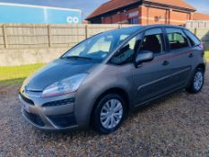 AU60 WLL CITREON C4 PICASSO VTR HDI M.O.T. EXP. 28/09/21 FIRST REG.