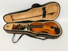 """THE STENTOR STUDENT II"" VIOLIN IN FITTED CASE"