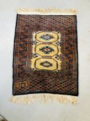 FOUR VINTAGE PRAYER RUGS OF VARYING DESIGNS