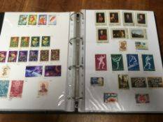 BOX WITH EASTERN EUROPE COLLECTIONS IN T