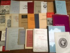 BOX OF BOOKS AND MONOGRAPHS CONCERNING G