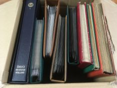 BOX WITH GERMANY IN DAVO ALBUM, USA IN S
