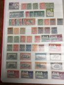 STOCKBOOK WITH COUNTRIES C-H COLLECTION