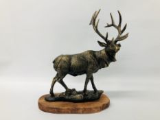 CAST STAG FIGURE (R)
