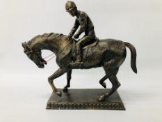HORSE & JOCKEY FIGURE (R)