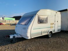 1996 STERLING EXCEL 390/2 TWO BERTH TOURING CARAVAN - IMPORTANT CONDITION OF SALE - ALL EQUIPMENT