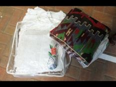 Collectable embroidered linen and other