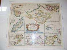 ROBERT MORDEN - 1695 - 'The Smaller Islands in the