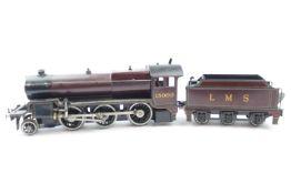 A Bassett-Lowke '0' gauge 4-6-0 live steam locomotive no.5524 with associated six wheel tender no.