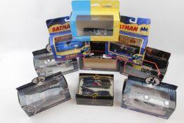 5 Corgi James Bond 007 Boxed vehicles and 3 Batman Corgi vehicles