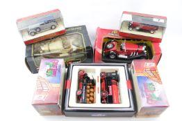 Collection of Matchbox Models of Yesteryear, Burago Mercedes Benz SSK & Diecast Mercedes Benz etc (
