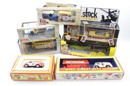 Collection of Novelty Corgi boxed Vehicles inc 'Lock Stock & Two Smoking Barrels', 'The Beatles' (8)