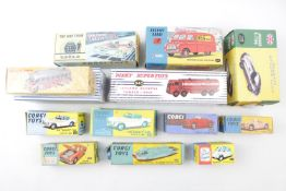 Collection of Dinky and Corgi Boxed Vehicles mostly later editions inc. Leyland Octopus 943, Proteus