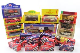 Collection of Corgi, Shell and other collectors cars