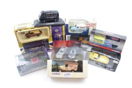 Very Large collection of assorted Corgi, Lledo Days Gone Matchbox etc