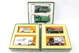 Collection of Boxed Corgi Vehicle sets to include Charringtons, Shell, Greene King etc (6)