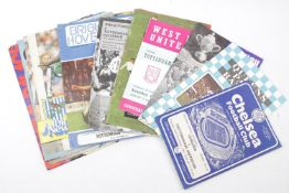 Large Collection of Tottenham Hotspur Programmes 1950s - 1990s
