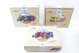 6 Boxed Corgi boxed sets to include 'The Bass Model T Van & Thorneycroft', 'The Ruddles Bedford O