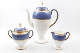 Wedgwood Bone China 'Ulander' pattern Tea Set W2376